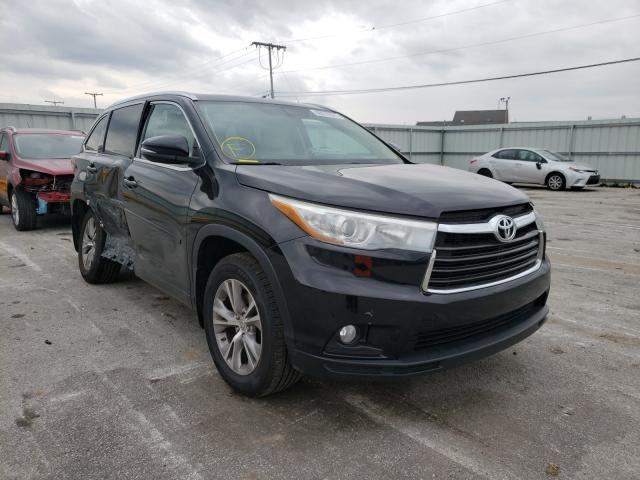 Salvage cars for sale from Copart Dyer, IN: 2015 Toyota Highlander