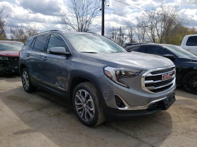 GMC salvage cars for sale: 2020 GMC Terrain SL