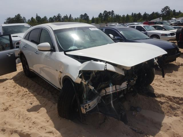 Infiniti QX70 salvage cars for sale: 2016 Infiniti QX70