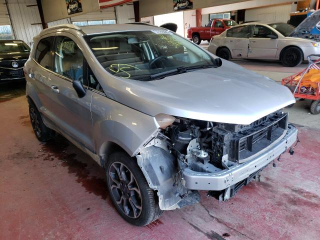 Ford Ecosport T salvage cars for sale: 2020 Ford Ecosport T