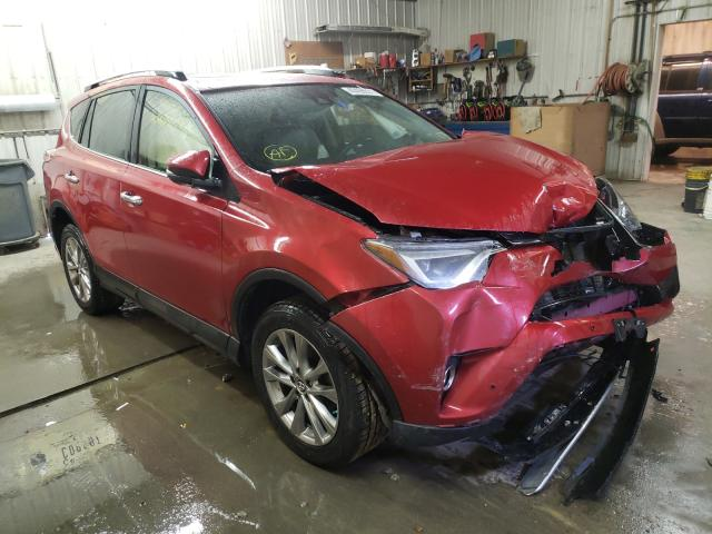 Salvage cars for sale from Copart Avon, MN: 2016 Toyota Rav4 Limited