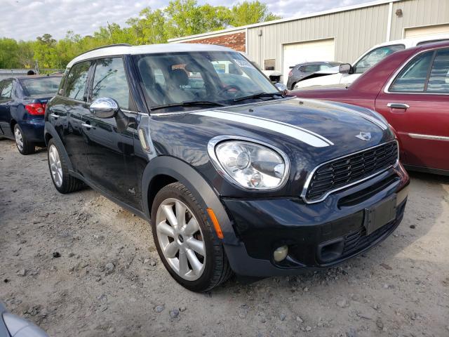 Salvage cars for sale at Hampton, VA auction: 2012 Mini Cooper S C