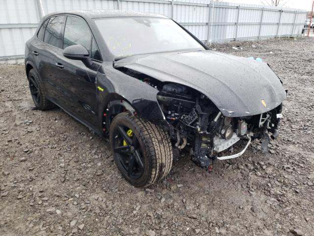 Porsche salvage cars for sale: 2020 Porsche Cayenne E