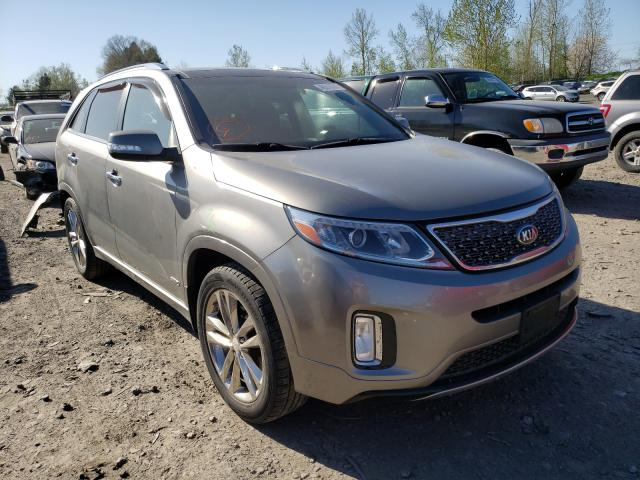 KIA Sorento SX salvage cars for sale: 2014 KIA Sorento SX