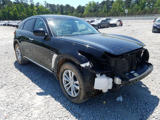Salvage cars for sale from Copart Ellenwood, GA: 2016 Infiniti QX70