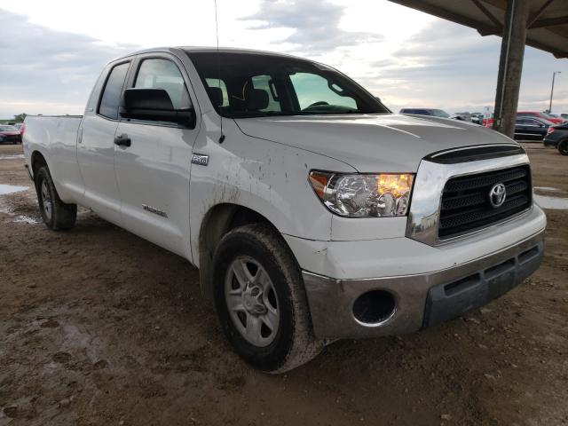 Salvage cars for sale from Copart Temple, TX: 2008 Toyota Tundra DOU