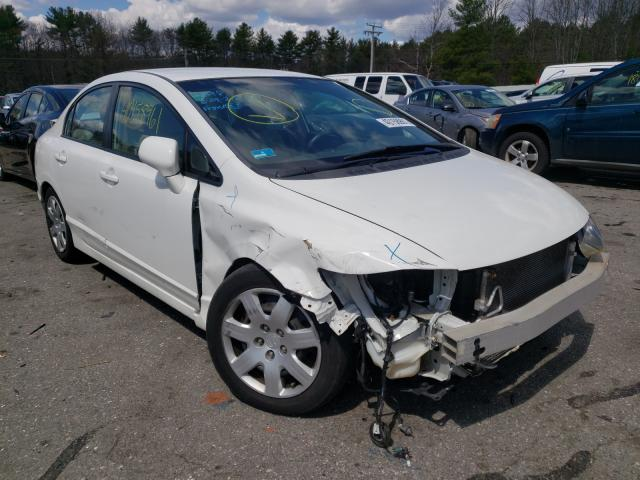 Salvage cars for sale from Copart Exeter, RI: 2011 Honda Civic LX