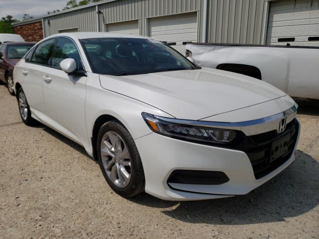 Salvage cars for sale from Copart Hampton, VA: 2019 Honda Accord LX