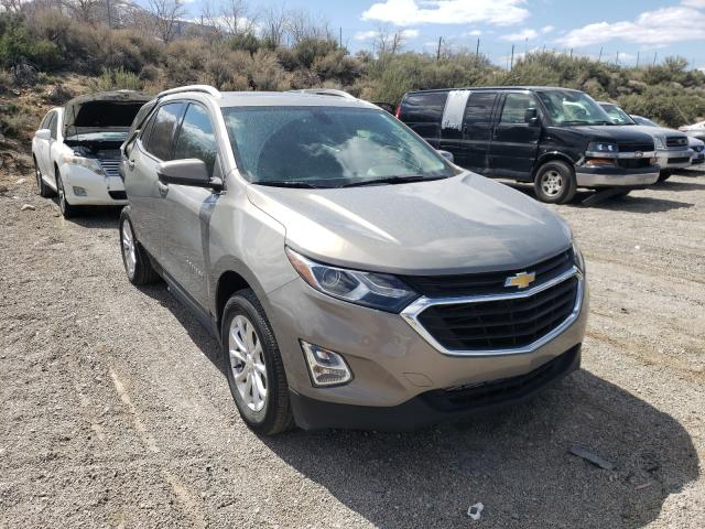 Salvage cars for sale from Copart Reno, NV: 2018 Chevrolet Equinox LT