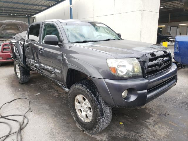 Salvage cars for sale from Copart Anthony, TX: 2009 Toyota Tacoma DOU