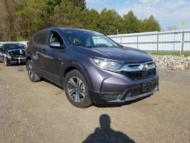Salvage cars for sale from Copart London, ON: 2019 Honda CR-V LX
