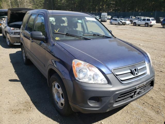 Salvage cars for sale from Copart Graham, WA: 2005 Honda CR-V LX