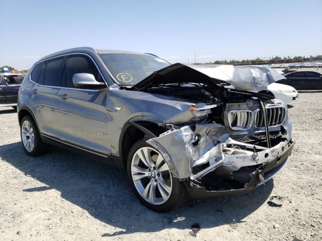 Salvage cars for sale from Copart Antelope, CA: 2013 BMW X3 XDRIVE3