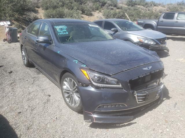 Salvage cars for sale from Copart Reno, NV: 2017 Genesis G80 Base