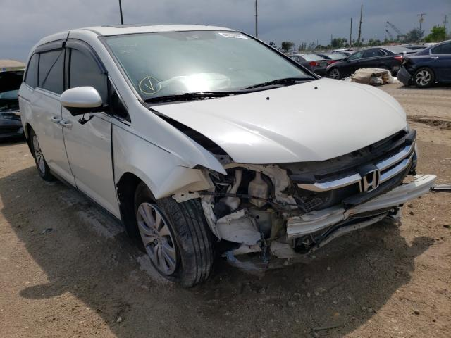 Salvage cars for sale from Copart West Palm Beach, FL: 2016 Honda Odyssey EX