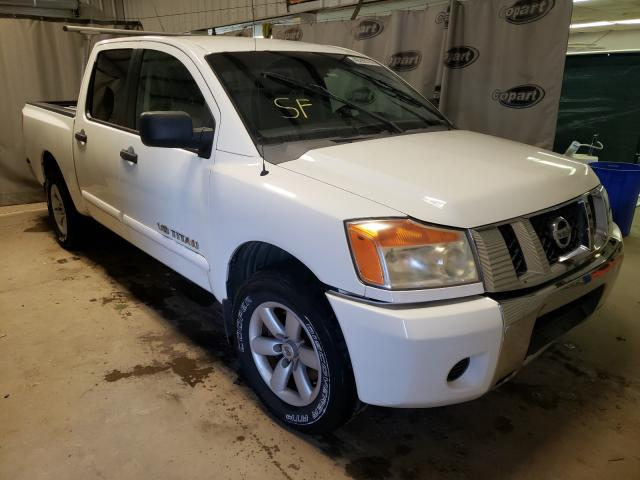 Salvage cars for sale from Copart Tifton, GA: 2008 Nissan Titan XE