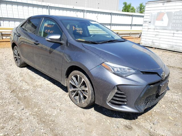 Salvage cars for sale from Copart Chatham, VA: 2017 Toyota Corolla SE
