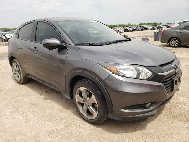 Salvage cars for sale from Copart Temple, TX: 2017 Honda HR-V EX