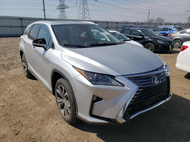 Salvage cars for sale from Copart Elgin, IL: 2018 Lexus RX 350 L