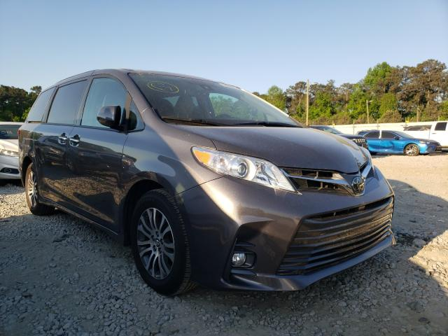 Salvage cars for sale from Copart Ellenwood, GA: 2019 Toyota Sienna XLE