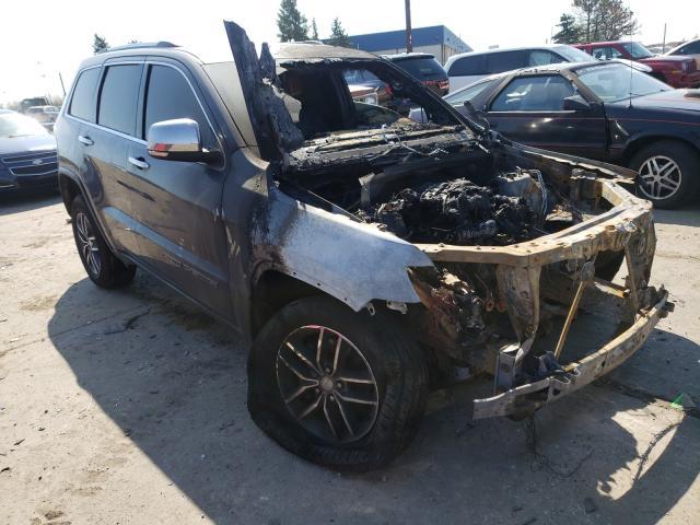 2018 Jeep Grand Cherokee en venta en Woodhaven, MI