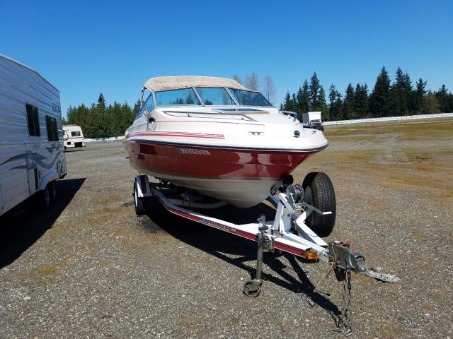 Salvage cars for sale from Copart Arlington, WA: 1986 Seadoo Boat With Trailer