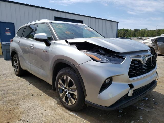 Salvage cars for sale from Copart Shreveport, LA: 2020 Toyota Highlander