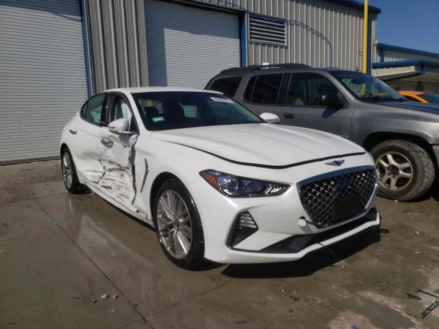 Genesis salvage cars for sale: 2020 Genesis G70