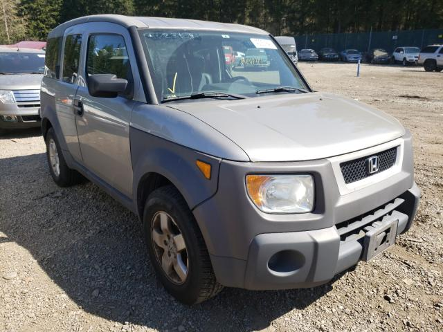 Salvage cars for sale from Copart Graham, WA: 2003 Honda Element EX