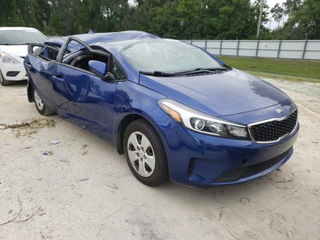 Salvage cars for sale from Copart Ocala, FL: 2017 KIA Forte LX