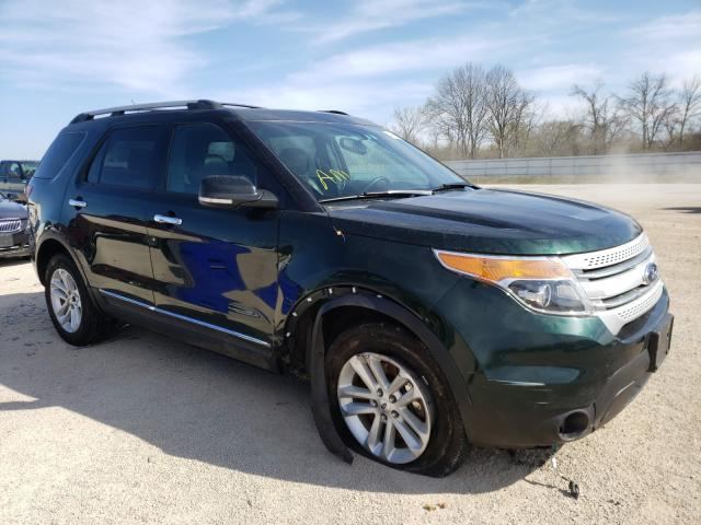 Salvage cars for sale from Copart Milwaukee, WI: 2013 Ford Explorer X