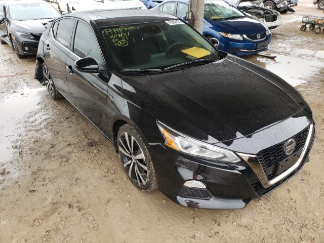 Salvage cars for sale from Copart Temple, TX: 2021 Nissan Altima SR