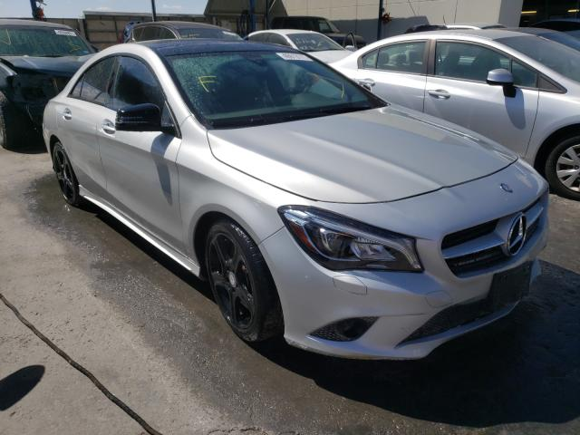 Salvage cars for sale from Copart Anthony, TX: 2018 Mercedes-Benz CLA 250