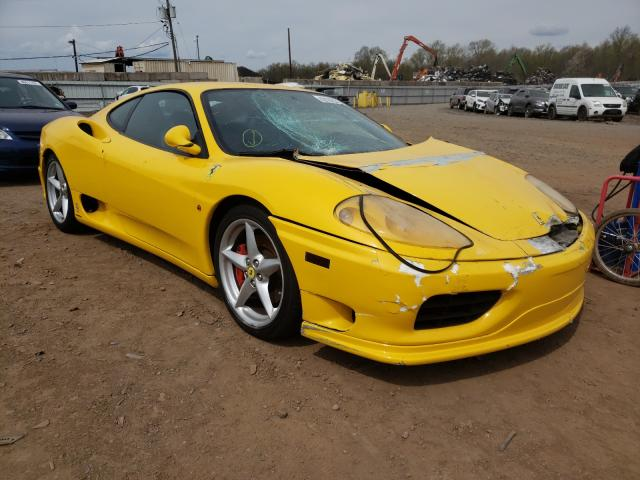 Ferrari salvage cars for sale: 2000 Ferrari 360 Modena
