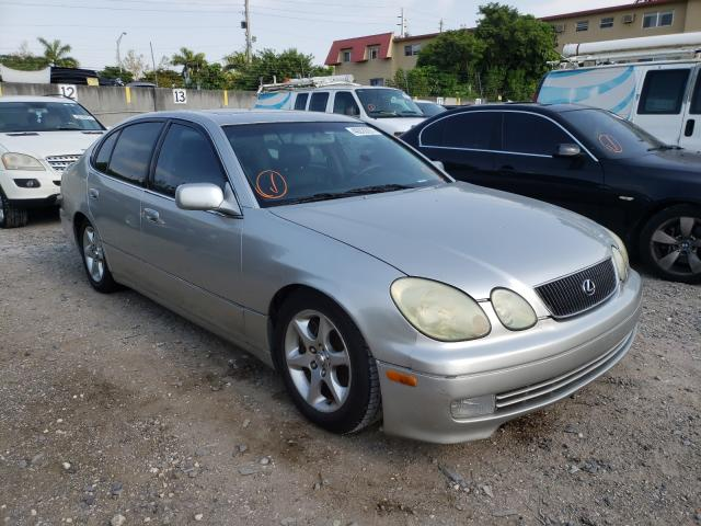 Salvage cars for sale from Copart Opa Locka, FL: 2002 Lexus GS 300