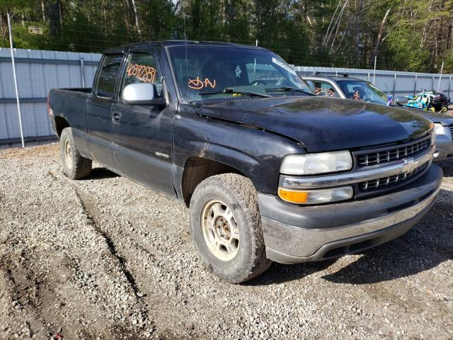 Salvage cars for sale from Copart Lyman, ME: 2002 Chevrolet Silverado