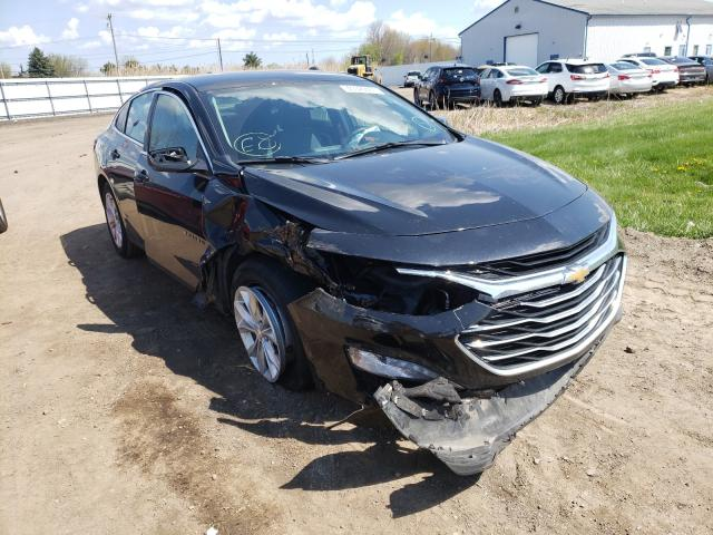 Salvage cars for sale from Copart Columbia Station, OH: 2019 Chevrolet Malibu LT