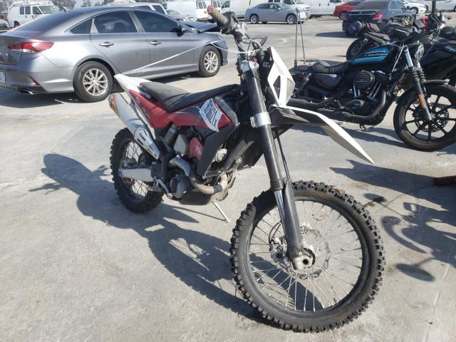 Salvage cars for sale from Copart Sun Valley, CA: 2012 Hyosung TE-450