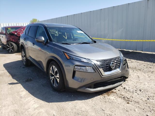 Salvage cars for sale from Copart Wichita, KS: 2021 Nissan Rogue