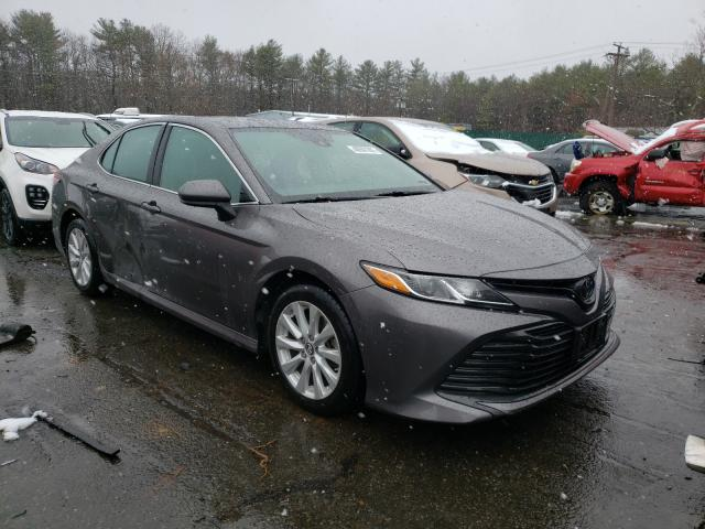 Salvage cars for sale from Copart Exeter, RI: 2019 Toyota Camry L