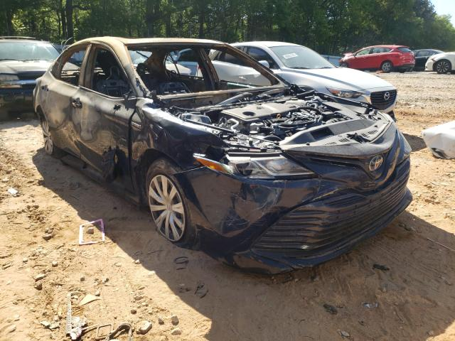Salvage cars for sale from Copart Austell, GA: 2018 Toyota Camry LE