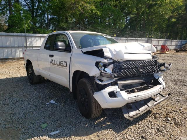 Salvage cars for sale from Copart Austell, GA: 2021 Toyota Tundra DOU