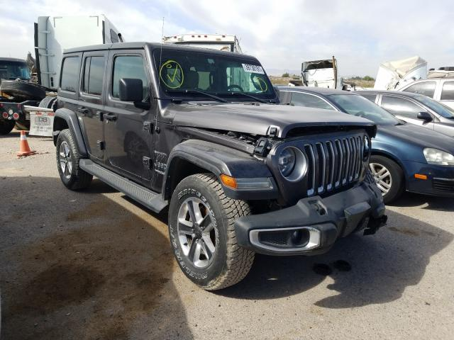 Salvage cars for sale from Copart Tucson, AZ: 2018 Jeep Wrangler U
