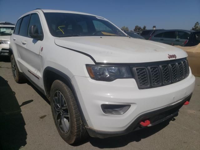 Salvage cars for sale from Copart Martinez, CA: 2017 Jeep Grand Cherokee