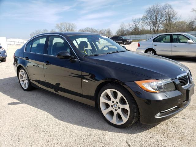 Salvage cars for sale from Copart Milwaukee, WI: 2007 BMW 3 Series