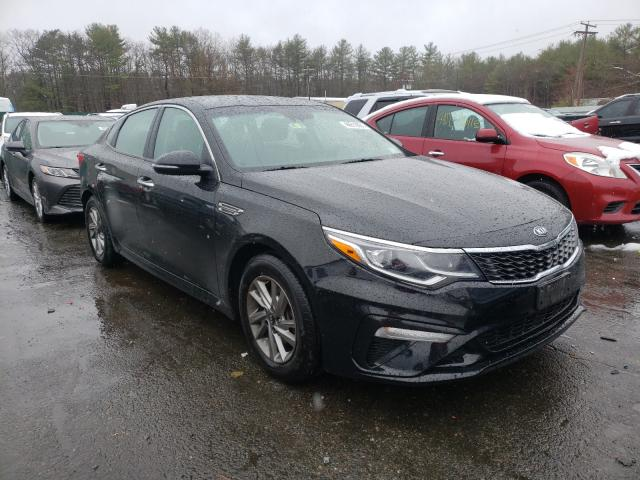 Salvage cars for sale from Copart Exeter, RI: 2019 KIA Optima LX