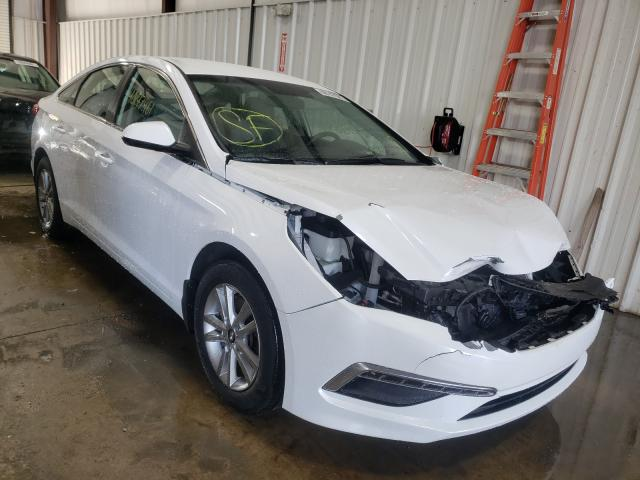 Salvage cars for sale from Copart West Mifflin, PA: 2015 Hyundai Sonata SE