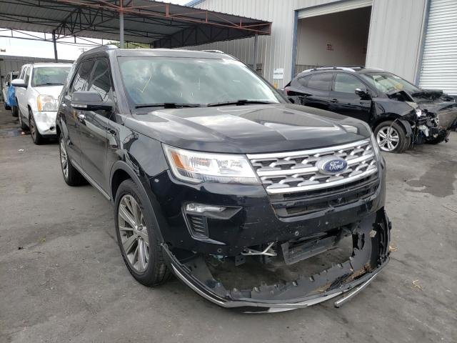 Salvage cars for sale from Copart Orlando, FL: 2018 Ford Explorer L