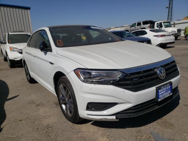 Volkswagen salvage cars for sale: 2021 Volkswagen Jetta S