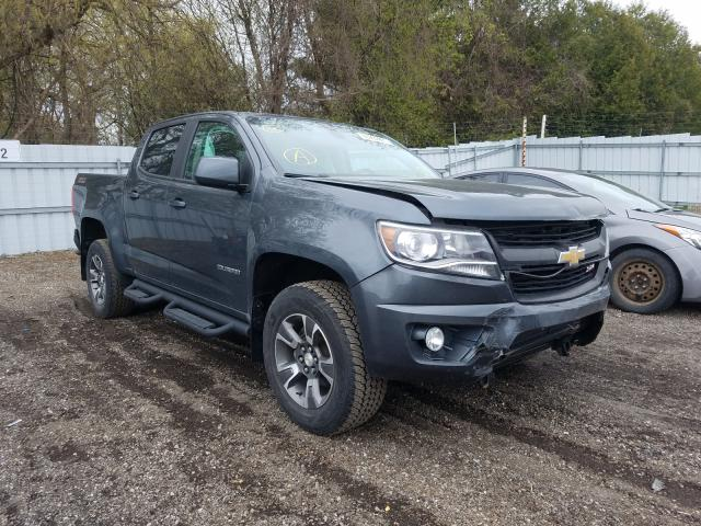 Salvage cars for sale from Copart London, ON: 2016 Chevrolet Colorado Z